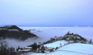 Tra neve e nebbia
