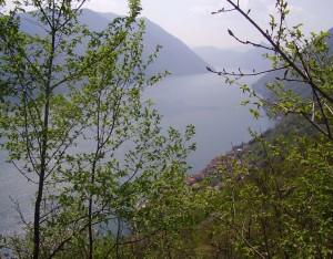 Primavera sul lago di Lugano