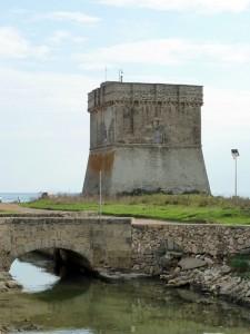 Torre Chianca e il canale