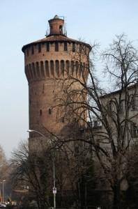 primo piano sulla torre