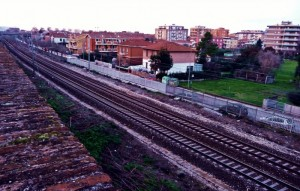 Fano e la ferrovia