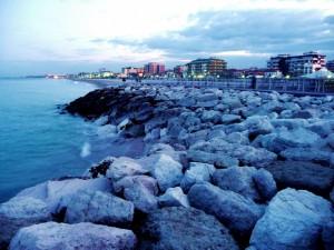 Fano: il mare d'inverno
