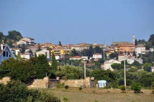 Panorama di Monteromano (VT)