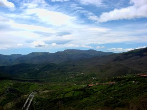 Ammirare la valle