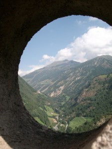 Certosa (Kathaus) vista da S.Caterina  in Val Senales
