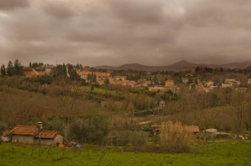 Mazzano Romano - Mazzano sotto la pioggia