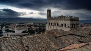 Panorama di Gubbio
