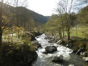 paesaggio di Bossea, frazione di Frabosa Soprana, alta Val Corsaglia