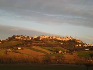 Sant'Elpidio alla luce del tramonto