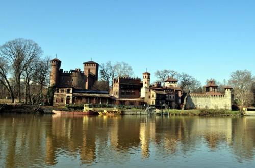 Torino - Il castello e il borgo medioevale