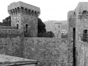 La rocca Monaldeschi a Bolsena.