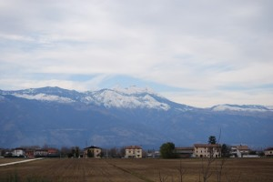 Le montagne viste dal sacilese