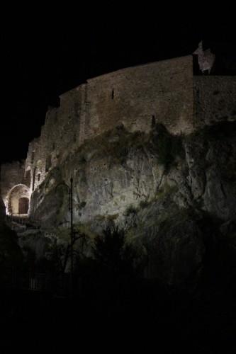 Laurenzana - Il castello e la notte