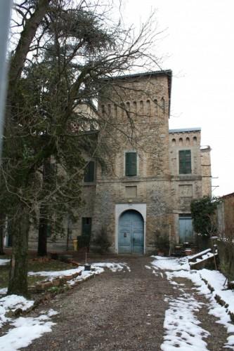 Parma - Entrando alla Rocca di Pannocchia