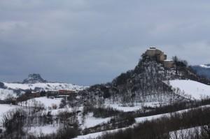Il Castello di Rossena e il suo borgo…