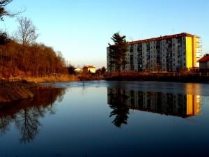 il laghetto artificiale
