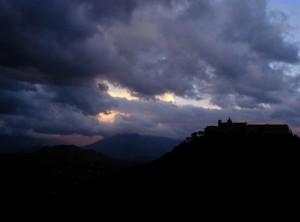Montecassino. Tinte fosche.