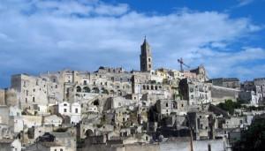 Il centro di Matera