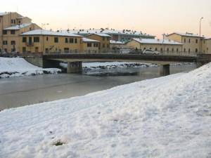 Greve ghiacciata a Scandicci