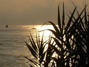 Parghelia al tramonto