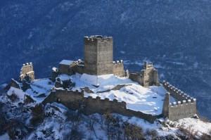 Castello Cly versione invernale