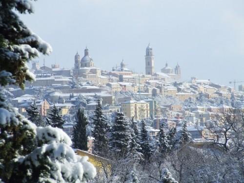 Macerata - Macerata sotto la neve