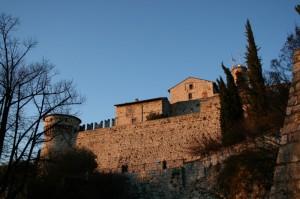 Brescia - Il tramonto colora le pietre antiche
