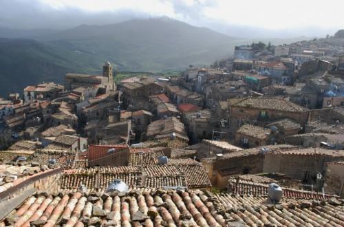 Mistretta - panorama sui tetti