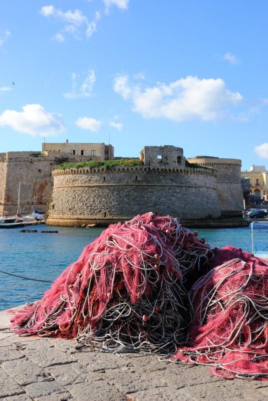 ''Un castello di pescatori'' - Gallipoli