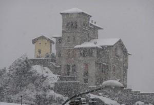 Il Roccolo sotto la neve