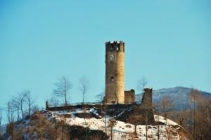 Torre del castello di Brondello