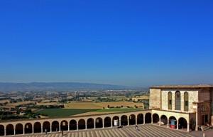 La campagna di Assisi