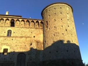 Il Castello Baglioni.