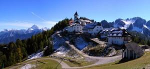 Panorama di Monte Lussari