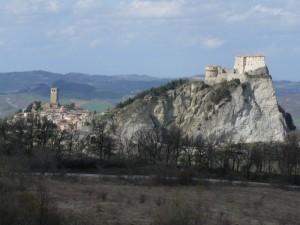 il borgo e la rocca