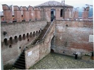 Il cortile della Rocca
