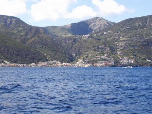 Santa Marina Salina - Dal battello
