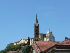 Vista da piazza Marconi