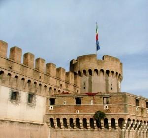 La torre di Castel Sant'Angelo
