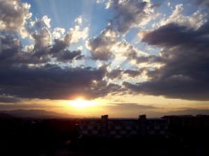 Scandicci al tramonto