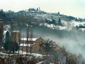 La nebbia agli irti colli……