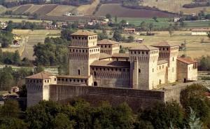 Castello di Torrechiara: una splendida alcova!