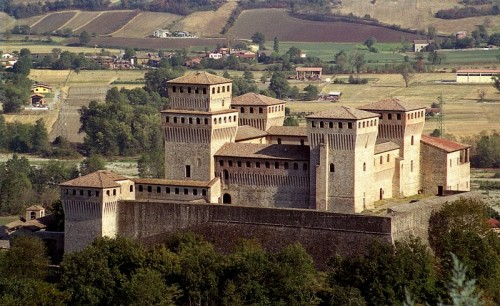 Langhirano - Castello di Torrechiara: una splendida alcova!