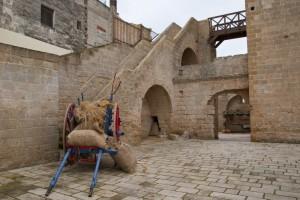 Oggi teatro di rappresentazioni medievali…