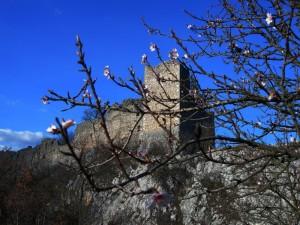 Sta arrivando la primavera al castello d'Ocre