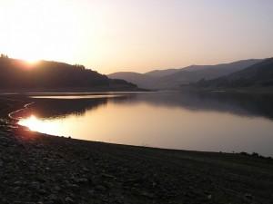 Lago Ampollino al tramonto 2