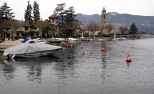 Lungo lago Lavena Ponte Tresa