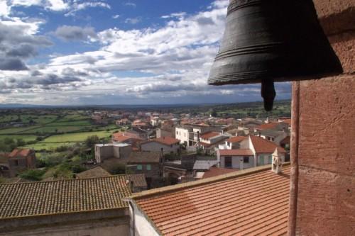 Paulilatino - Panoramica dal campanile.