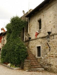 la scala del Castello Formentini