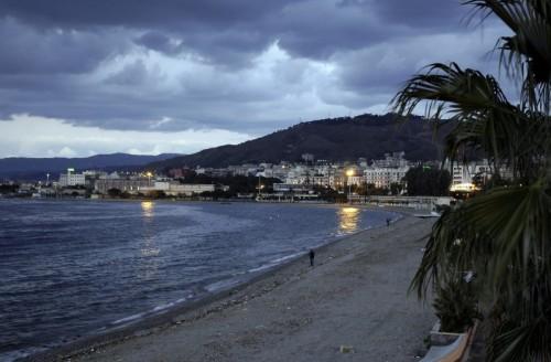 Reggio Calabria - Il lido di Reggio in un giorno d'inverno